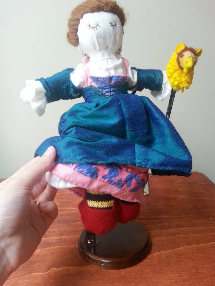 Late period doll